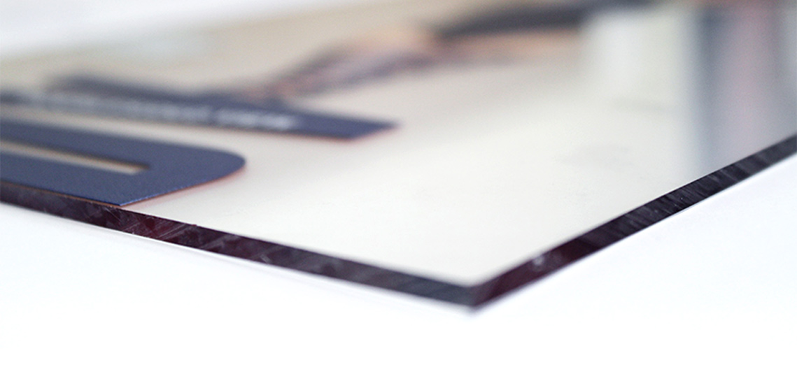 Impression sur miroir / Translucide / Opaque